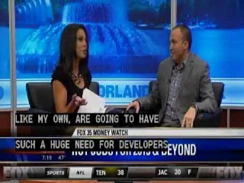 Kavaliro's Mark Moore on FOX 35 Discussing Hot Jobs for 2013 & Beyond