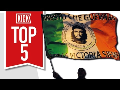 Top 5 Most Political Clubs