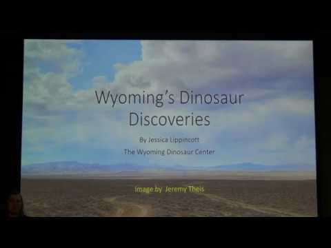 A Look at Wyoming Dinosaurs Around the World by Jessica Lippincott, Dir. Big Horn Basin Foundation