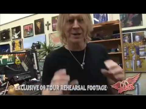 Aerosmith — 2009 Tour — Rehearsal Sneak Peek #1