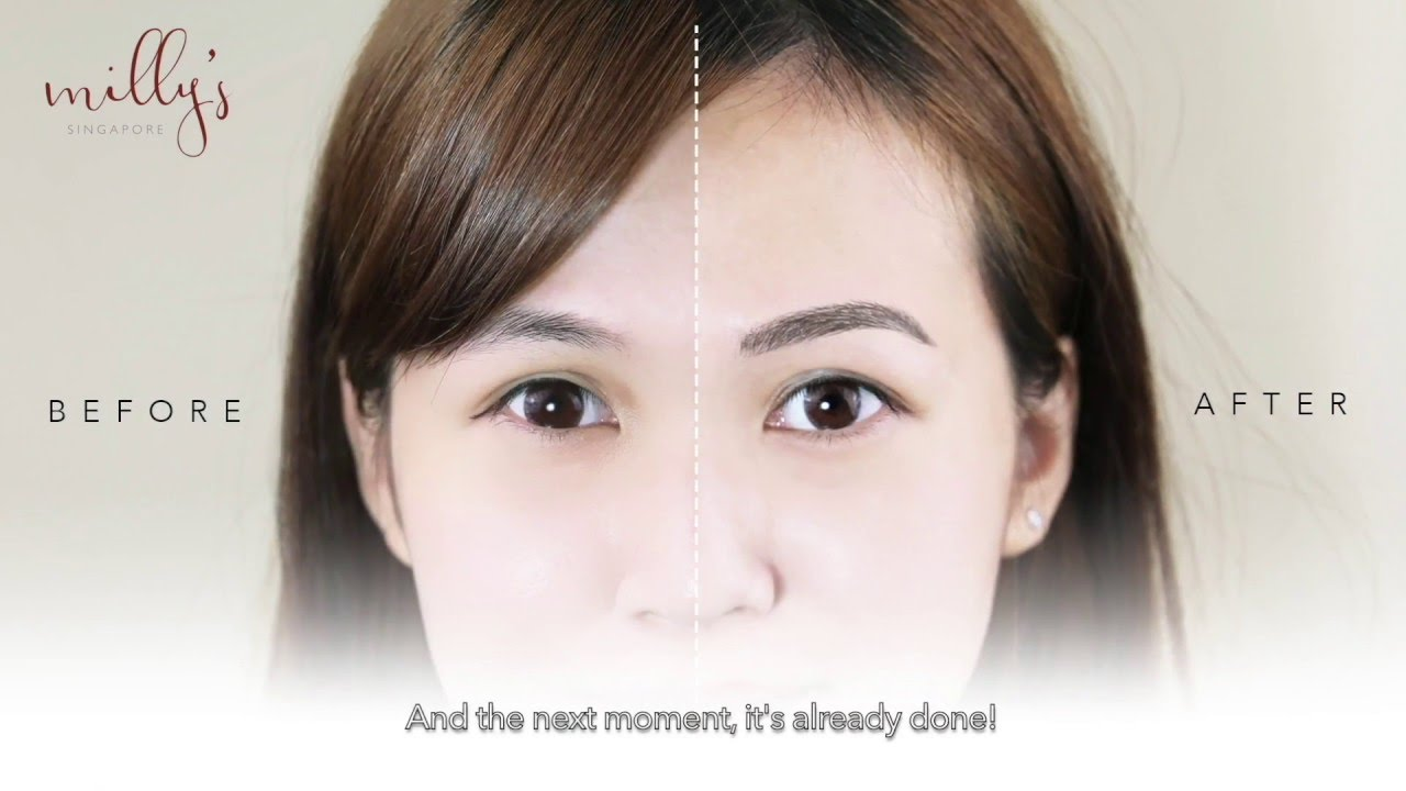 Millys Singapore Eyebrow Embroidery