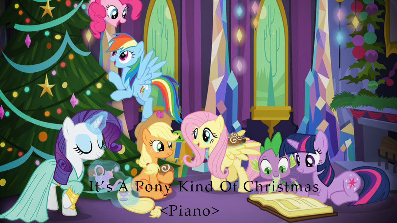 My Little Pony - Christmas Album --- It's A Pony Kind Of Christmas ...