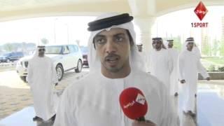 مقابلة مع سمو الشيخ منصور بن زايد آل نهيان وحديث حول مهرجان الشيخ زايد التراثي ٢٠١٤