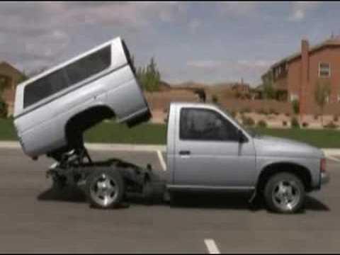 Lowrider Truck Dancing Bed Nissan Mini Truck Hydraulics