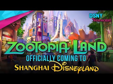 ZOOTOPIA LAND Officially Coming To Shanghai Disneyland - Disney News - 1/23/19