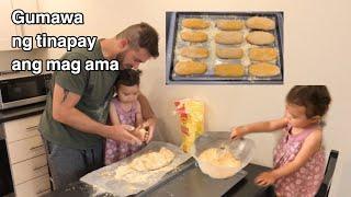 HOMEMADE BREAD  BONDING NANG MAG AMA  FILIPINA-PORTUGUESE LIFE IN UK