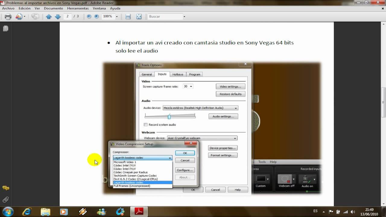 Solucion problemas al importar archivos en Sony Vegas [Completo ...