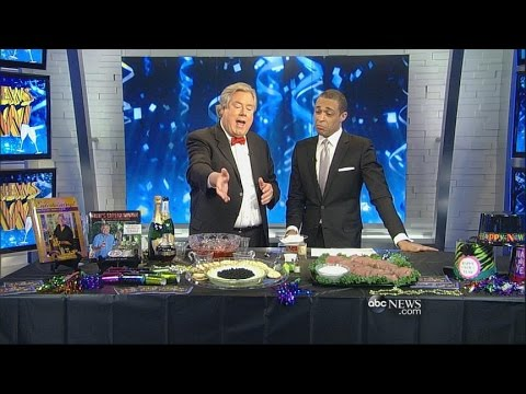World News Now | Festive Food & Drink Ideas For New Year's Eve