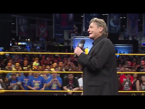 Important announcement for TakeOver: Orlando made at Axxess by William Regal