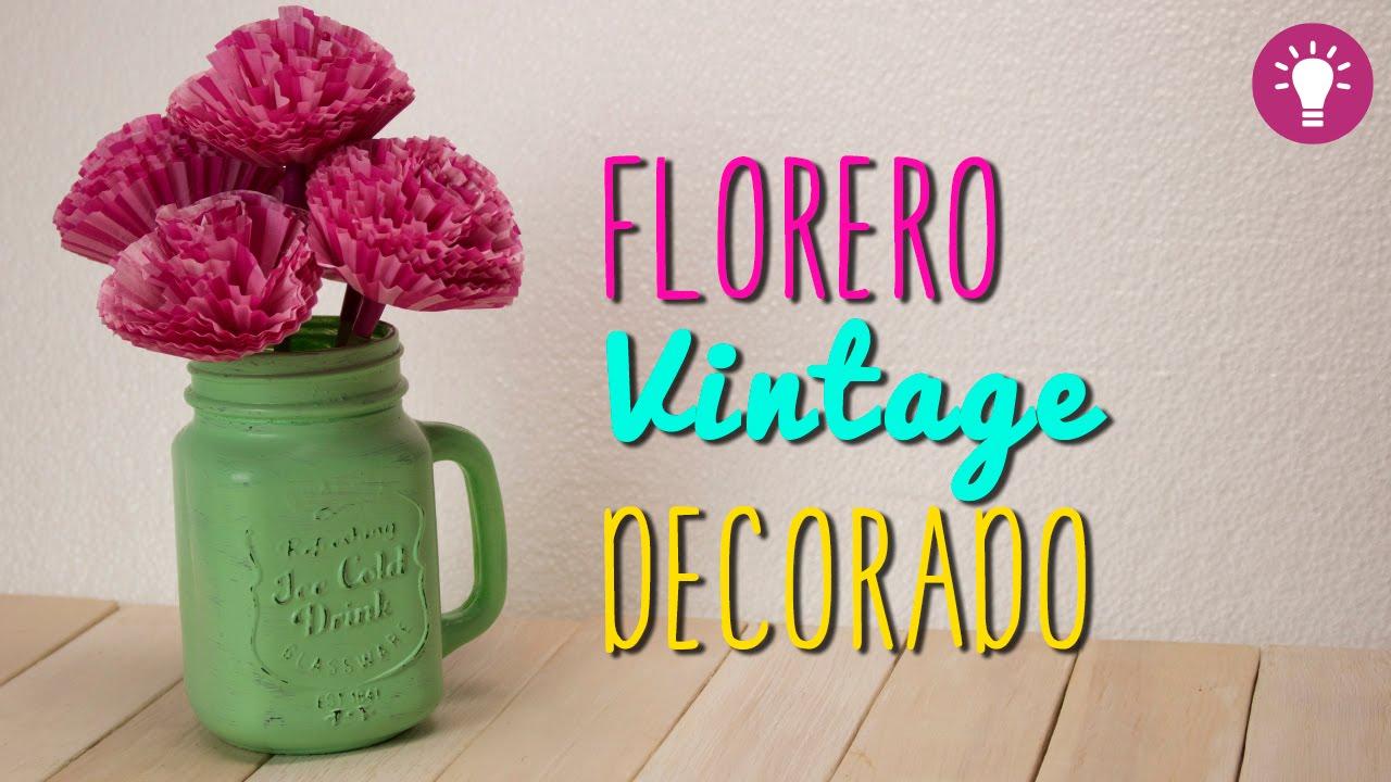 ideas para decorar tu cuarto florero f cil y bonito con