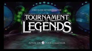 """[Wii] Introduction du jeu """"Tournament of Legends"""" de Sega (2010)"""