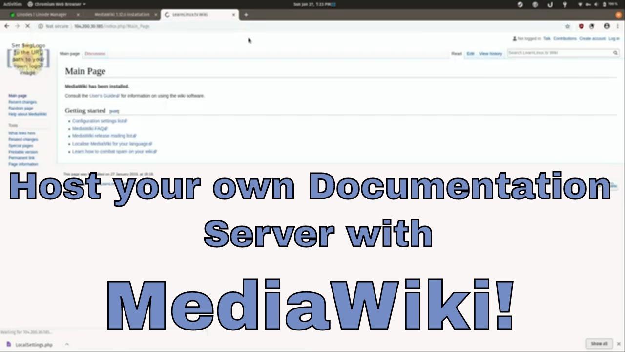 Hosting Your Own Wiki with MediaWiki on Ubuntu 18 04 on Linode
