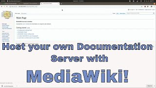 Hosting Your Own Wİki with MediaWiki on Ubuntu 18.04 on Linode