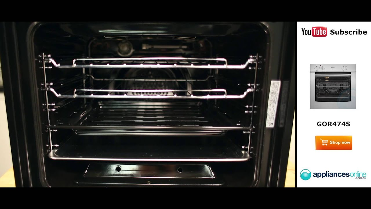 60cm gas wall oven gor474s reviewed by expert appliances online