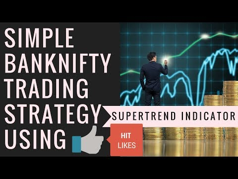 Simple BANK NIFTY Trading Strategy Using SuperTrend Indicator Hindi 2017 BY MAKEPROFITWITHUS COM
