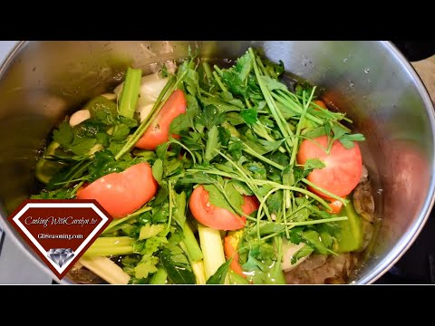 HOW TO MAKE SEAFOOD STOCK |Cooking With Carolyn