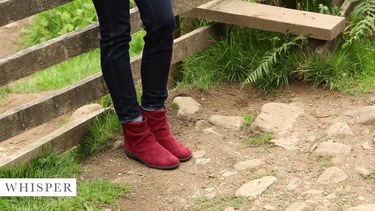 Whisper | Women's Short Boot | Hotter