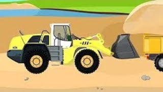 Construction Machinery | Excavator Street Vehicles | Fairy Tale Excavator Children