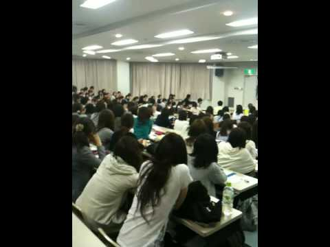 Fair Trade Fashion Show②at  Meiji Gakuin University in Japan 20100528