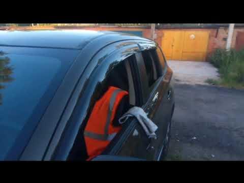 Mitsubishi outlander 3 <b>дефлекторы окон</b> от <b>AutoFlex</b> - YouTube