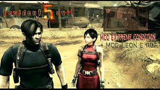 RESIDENT EVIL 5 EXTREME CONDITION 2012 GAME PLAY #01 LEON E ADA