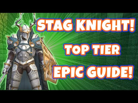How Good Is Stag Knight? - Top Tier Epic - Raid: Shadow Legends