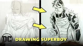 How to Draw Superboy with John Timms | DC Art Academy
