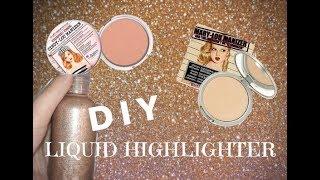 DIY Liquid Highlighter