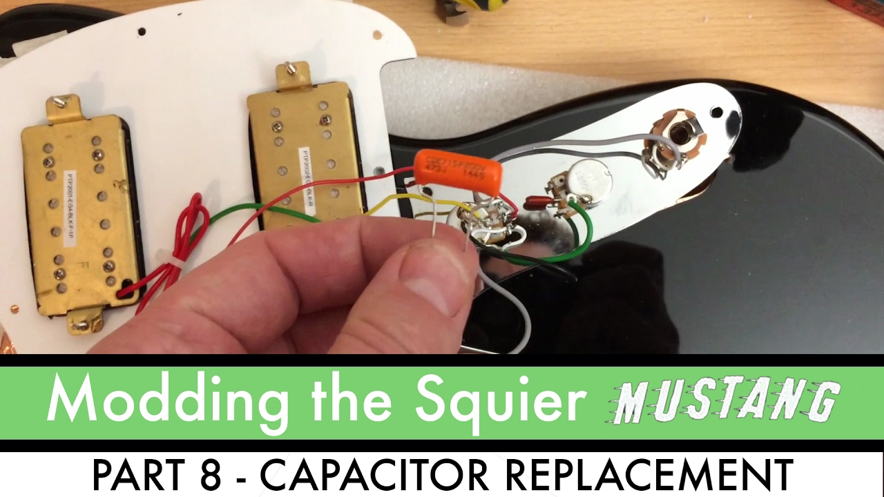 modding the mighty bullet mustang part 8 capacitor replacement [ 1280 x 720 Pixel ]