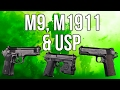 MWR In Depth: M9, M1911, & USP