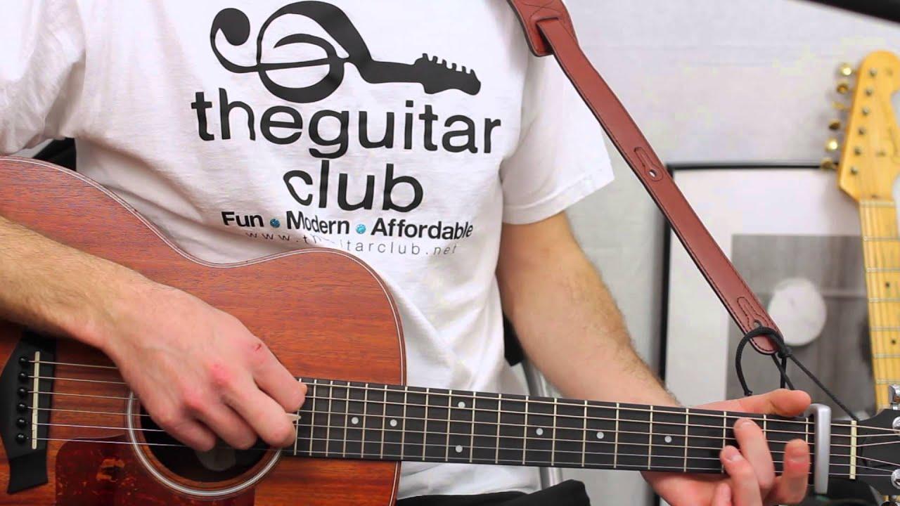 Stay The Night Zedd Guitar Lesson Easy Chords Free Tab