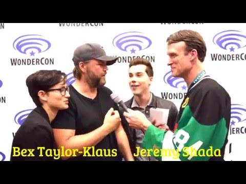 Tyler Labine (Hunk) Interview with Let's Voltron @ WonderCon