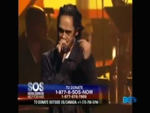 Nas & Damian Marley - Strong Will Continue - SOS Save Our Selves Help For Haiti Live
