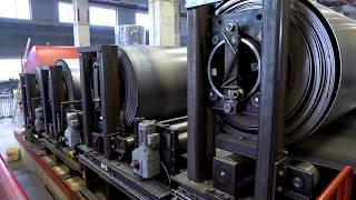 Produktion 195'000-Liter Wärmespeicher