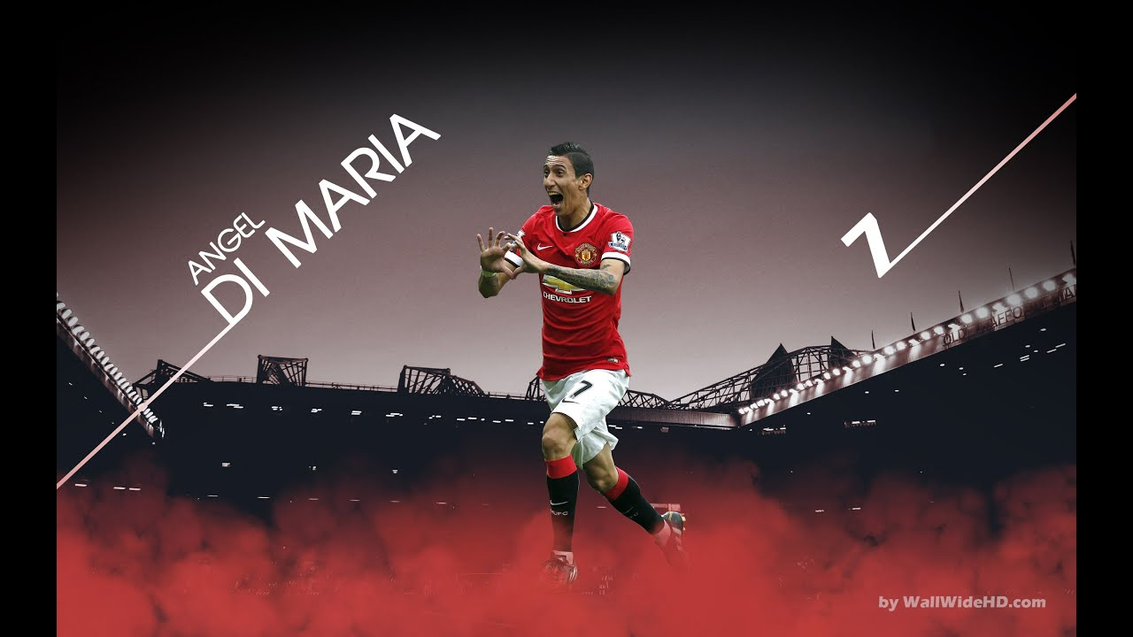 Angel Di Maria Manchester United 20142015 Youtube