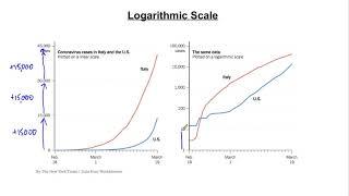 CoronaVirus Maths: Logarithmic Scale - What?
