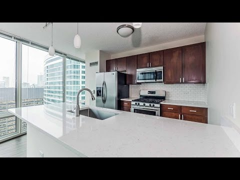 Tour a luxury Streeterville 3-bedroom at the Atwater apartment tower