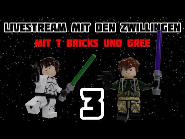 Livestream mit den Zwillingen 3 (mit T Bricks)