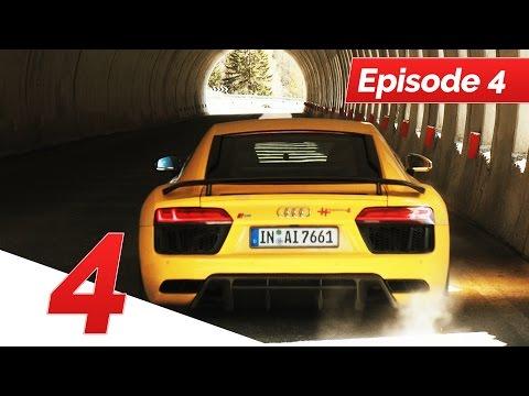 Soundcheck in den Dolomiten (Ep. 4) | Roadtrip 911 Turbo & Audi R8 V10 | #thepluses4
