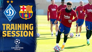 Recovery session post ATLÉTICO - BARÇA