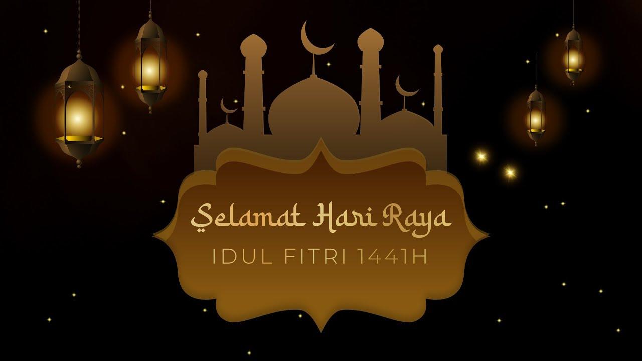 Video Ucapan Selamat Idul Fitri 2020 1441 H Kode 24 Eid
