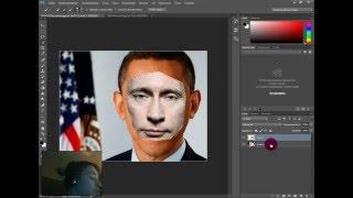 Как поменять цвет кожи в Adobe Photoshop