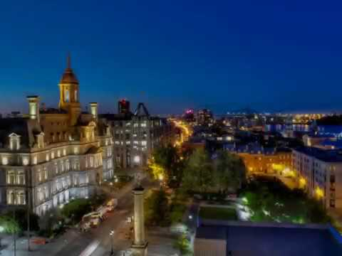 Montreal in Canada has a population of 4,027,100, landmarks,