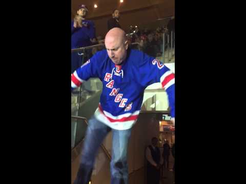 New York Rangers Dancing Larry at MSG!