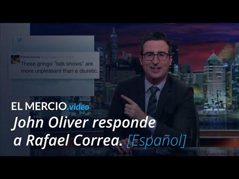 John Oliver vs. Rafael Correa - Round 2... Fight!  [Subtítulos Español - HD]  (Last Week Tonight)