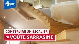 Escalier en voûte sarrasine [Lauréat Trophés Placo® 2013]