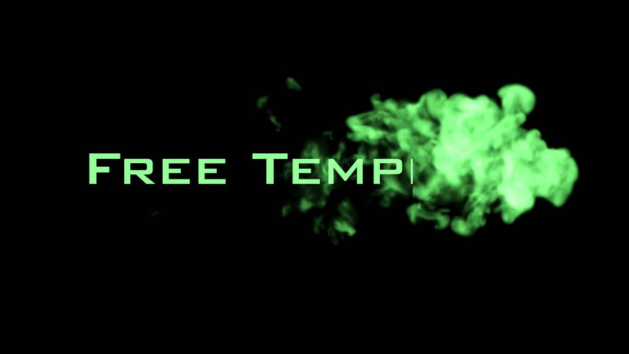 Adobe After Effects: Free Smoke Intro Template - YouTube
