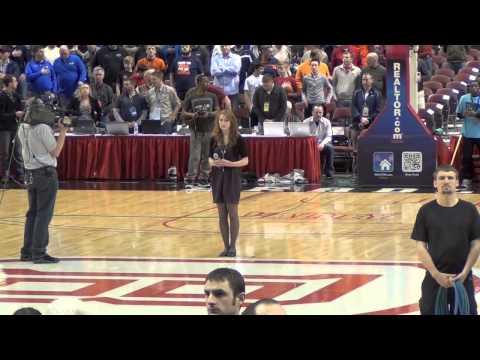 IHSA National Anthem - Margaret Schlofner