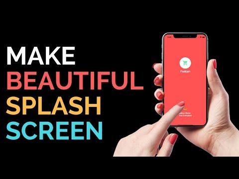 Flutter: Create Beautiful Material Splash Screen   Dart 2