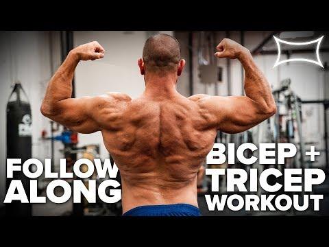 Follow This Crazy Arm Pump Workout ft Jesse Burdick | Bodybuilding Style